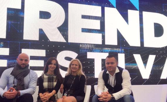 Pozdrawiamy z Trends Festival w Warszawie!