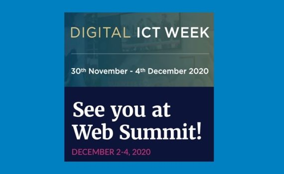 See you at Web Summit and Digital ICT Week!